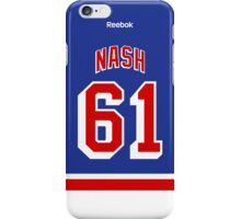 New York Rangers Rick Nash Jersey Back Phone Case iPhone Case/Skin
