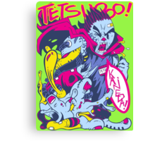 TETSUOOO! Canvas Print