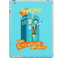 Tardis' Excellent dudes iPad Case/Skin