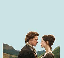 Outlander - Jamie x Claire by D. Abdel.