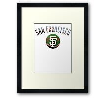 San Francisco Giants Stadium Color Framed Print