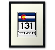 CO-131 - Steamboat Springs, Colorado Framed Print