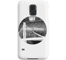 Golden State Warriors Oracle Arena Black and White Samsung Galaxy Case/Skin