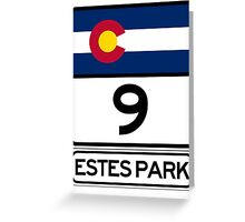 CO-7 Estes Park Colorado Greeting Card