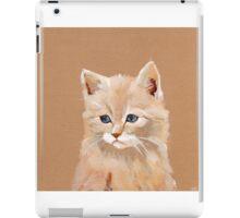 Lonely Cat Contemplates the Infinite iPad Case/Skin