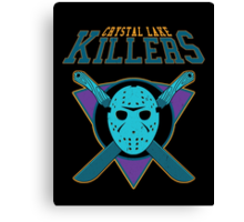 Crystal Lake Killers (NES Variant) Canvas Print