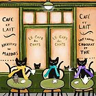 Le Cafe des Chats by Ryan Conners