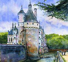 Chenonceau Castle France by LifePortraits