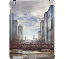 City - Chicago, IL - Looking toward the future  iPad Case/Skin