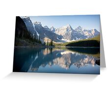 Lake Moraine - Alberta, Canada Greeting Card