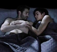 Sleeping Sterek  by thescudders