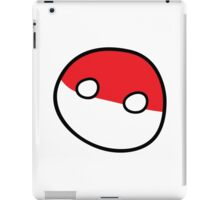 Polandball - Derpy Poland Big iPad Case/Skin