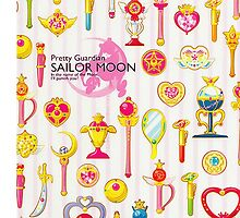 Sailor Moon - Pretty Moonsticks by sandyw5