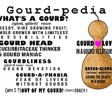 Gourd-pedia What's a Gourd Stationery Note Cards by Subwaysign