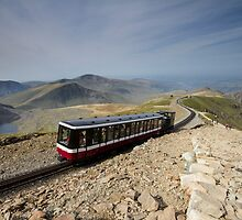 Snowdonia- Snowdon Mountain Railway by Angie Latham