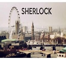 Sherlock & London Photographic Print