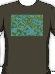 Money And Skeleton Key Pop Art T-Shirt
