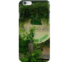 Overgrown Restaurant iPhone Case/Skin