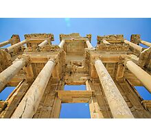 Ephesus Library Artistic View Photographic Print