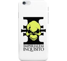 Imperialem Inquisito - Imperial Inquisition: Warhammer 40k (Light) iPhone Case/Skin