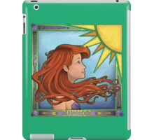 Play All Day In The Sun (Summer Nouveau) iPad Case/Skin
