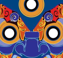 Blue Demon fir Shirt  Sticker