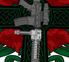 Battle Cross for Shirts Sticker