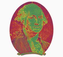 Portrait of George Washington Kids Clothes