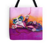 Kitty and the Bow Tote Bag