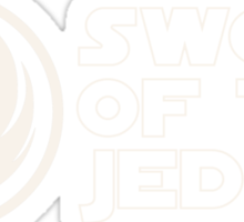Sword of the Jedi Sticker