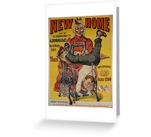 Political satire poster Greeting Card