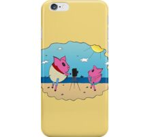 PiGgy on Vacation! iPhone Case/Skin