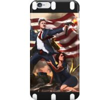 Bill Clinton & Monica Lewinsky Leg-Clench Movie Poster iPhone Case/Skin