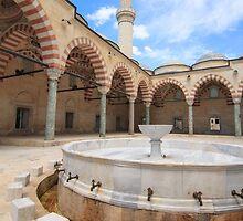 Old Mosque (Eski Camii) Edirne, Turkey by SuzannemorriS