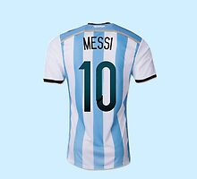 messi argentina by davhid