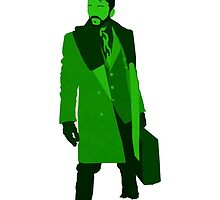 """Shades of green"" (Fargo, Lorne Malvo)  by ASaucyMango"