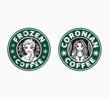Frozen and Coronian Coffee Mini Sticker Pack by Ellador