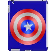 Captain America Red/Silver/Blue Shield iPad Case/Skin