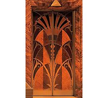 Doorway Style - Chrysler Building NY Photographic Print