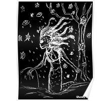 Death Rock Medusa Poster