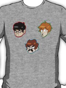 Team Lads Stickers T-Shirt