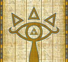 The Elemental Eye of Sheikah (The Legend of Zelda) by enthousiasme