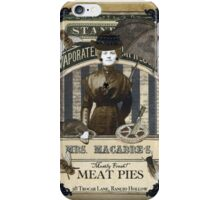 Mrs. Macabre's Meatpies iPhone Case/Skin
