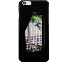 Window Greens iPhone Case/Skin