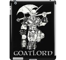 Goat Lord Censorship iPad Case/Skin