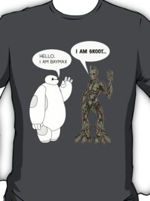Baymax and Groot T-Shirt