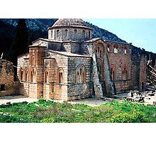 Church at Daphni, Greece Photographic Print
