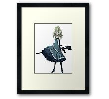 Tina Sprout Framed Print