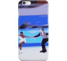 Figure Skaters 3 iPhone Case/Skin