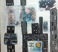 New-York City by emiliedarrousez